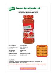 Prome Chilli Powder, 250g