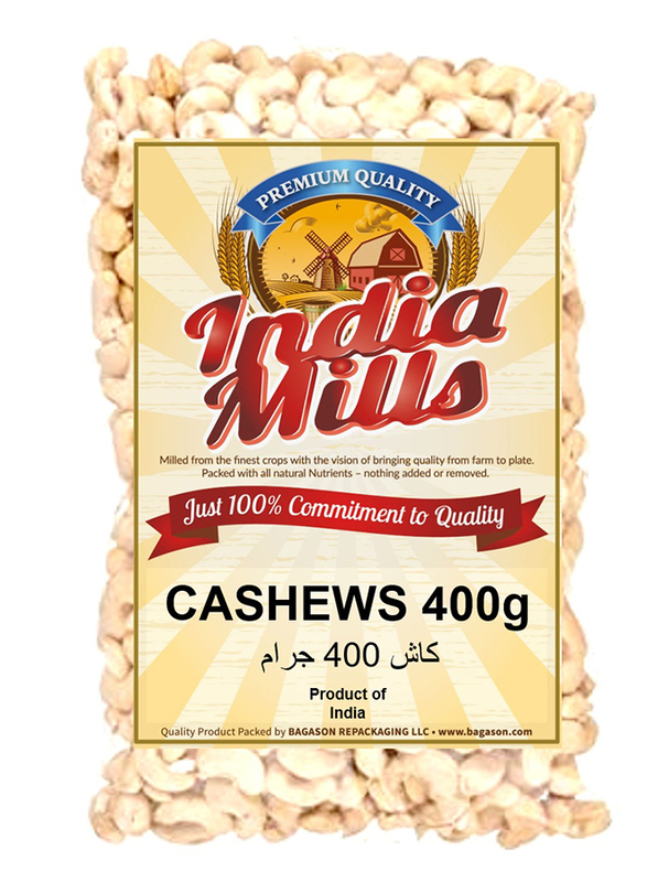 India Mills Cashews, 400g