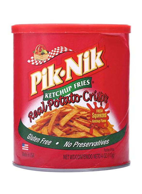 Pik-Nik Ketchup Fries Real Potato Crisps, 113g