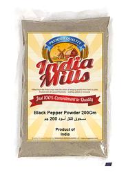India Mills Black Pepper Powder, 200g