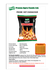 Prome Hot Chanachur, 150g