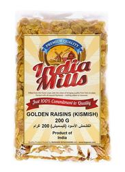 India Mills Golden Raisins, 200g