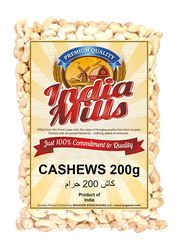 India Mills Cashews, 200g