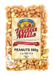India Mills Raw Peanuts, 500g