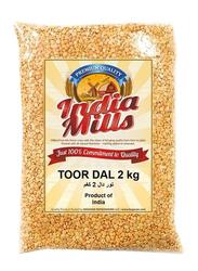 India Mills Toor Dal, 2 Kg
