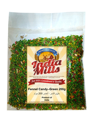 India Mills Fennel Candy-Green, 200g