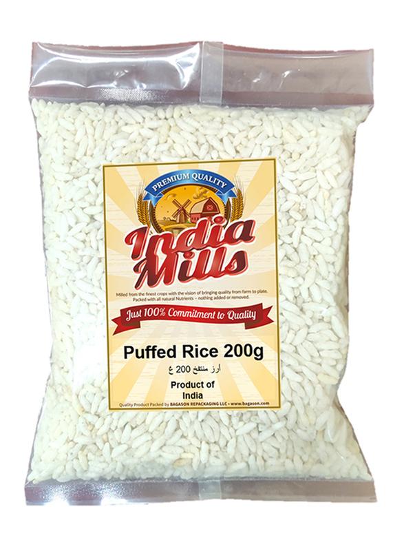 India Mills Puffed Rice, 200g