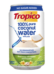 Tropico 100% Pure Coconut Water with Pulp, 310ml