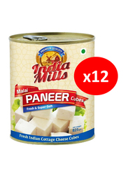 India Mills Malai Paneer Cubes, 12 Cans x 825g