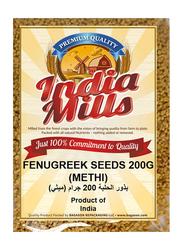 India Mills Fenugreek Seeds, 200g