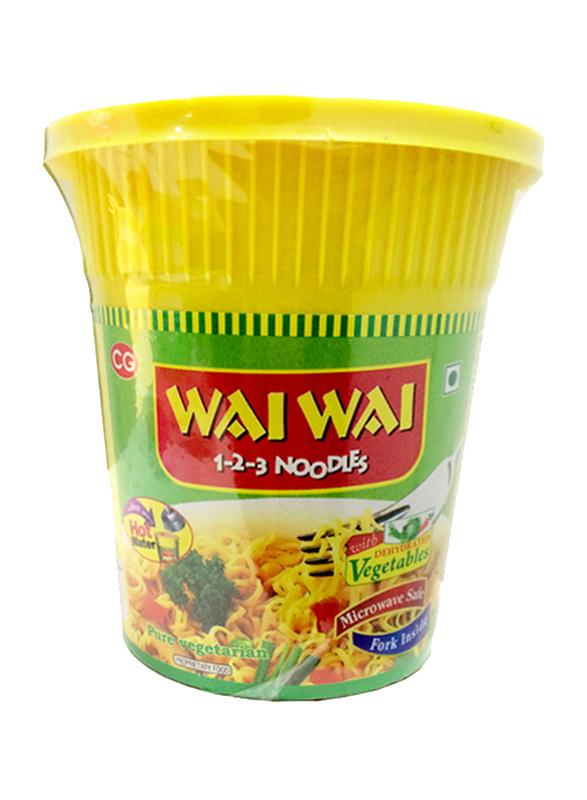 Wai Wai Veg Cup Noodles, 65g