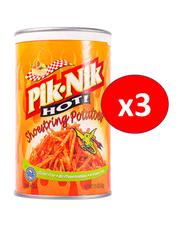 Pik-Nik Hot Shoestring Potatoes Crisp, 3 Cans x 42g