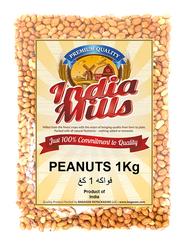 India Mills Raw Peanuts, 1 Kg