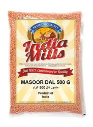 India Mills Masoor Dal, 500g