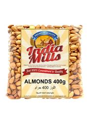 India Mills Almonds, 400g
