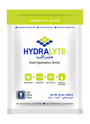 Hydralyte Electrolyte Powder Lemon Flavour, 20 Packets x 20g