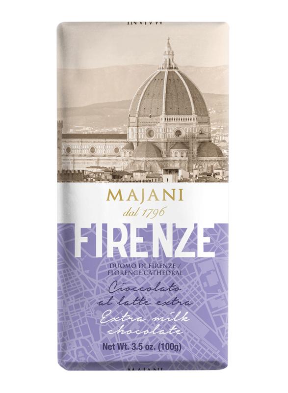 Majani 1796 Firenze Extra Milk Chocolate Bar, 100g