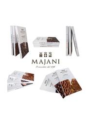 Majani 1796 Dark Chocolate Bar with Orange Peel, 250g
