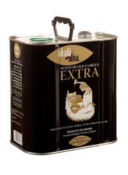 Alcala Oliva Spanish Extra Virgin Olive Oil in Tin, 2.5 Liters