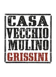 Casa Vecchio Mulino Biovette Piemontesi Italian Mini Flat Bread with Rosemary, 150g
