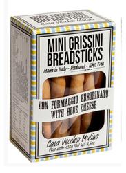 Casa Vecchio Mulino Italian Mini Breadsticks with Gorgonzola Blue Cheese, 130g