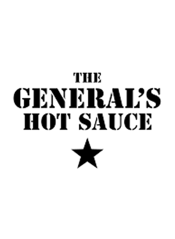 The General's Hot Sauce Shock & Ave American Habanero Peppers Sauces, 180ml