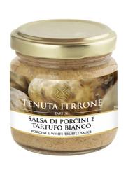 Tenuta Ferrone Porcini Mushroom & White Truffle Sauce Italian Gourmet, 80g