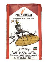 Molino Paolo Mariani Semolina Special Italian Flour for Bread Pizza Pasta, 1 Kg
