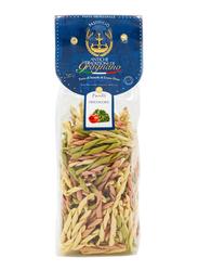 Antiche Tradizioni di Gragnano Durum Wheat Semolina Bronze Die Fusilli Tricolore Pasta, 500g