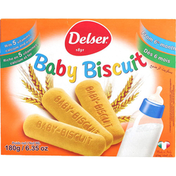 Delser 1891 Baby Biscuits, from 6 Months, 180g