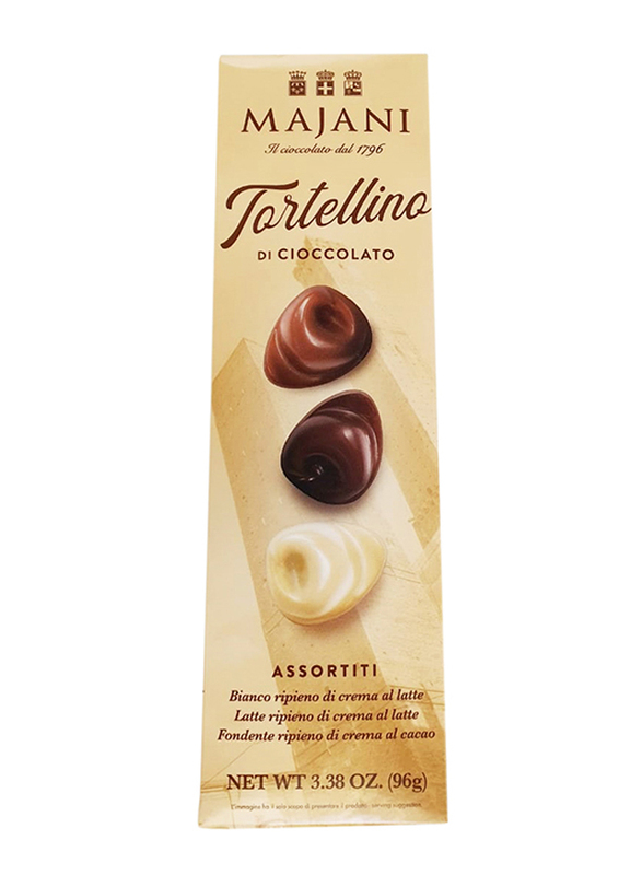 Majani 1796 Tortellino Assorted Chocolate, 96g