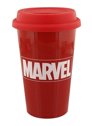 Marvel Comics Logo Ceramic Travel Mug, 340ml