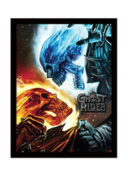 Ghost Rider Movie Poster, Framed, 36 cm x 46 cm
