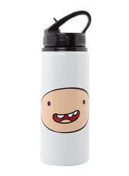 Adventure Time Finn Aluminium Water Bottle, 700ml, White