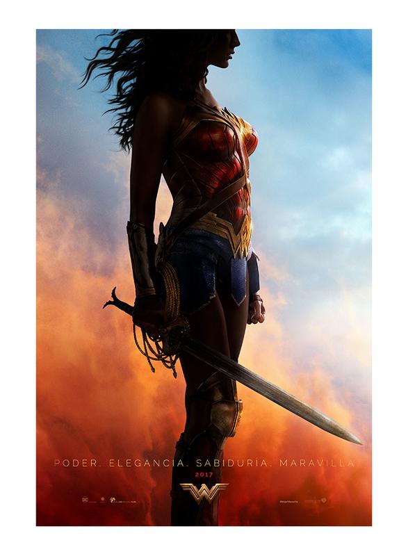 Wonder Woman Movie Poster, 60 cm x 90 cm