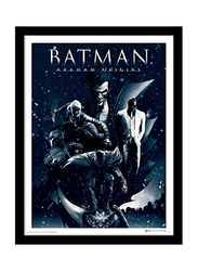 Batman Arkham Origins Movie Poster, Framed, 36 cm x 46 cm