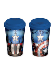 Marvel Comics Captain America Torso Ceramic Travel Mug, 340ml