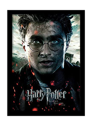 Harry Potter and The Deathly Hallows Part 2 Movie Poster, Framed, 36 cm x 46 cm