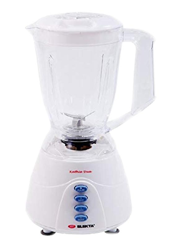 Elekta 1.5L Plastic Jar Blender, 300-350W, EFB-1580, White