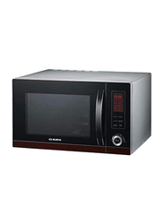 Elekta 30L Digital Microwave Oven with Grill, 1000W, EMO-306SSMKIII, Black/Silver