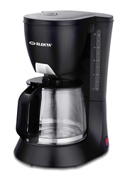Elekta 1.2L Coffee Maker, 680W, ECM-89MKIII, Black
