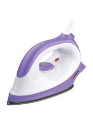 Elekta Dry Iron with Non-Stick Soleplate, 1170W, EDI-1540-S, White/Purple