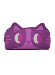 Smily Kiddos Fancy Pencil Case for Kids, Kitty, Purple