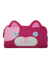Smily Kiddos Fancy Pencil Case for Kids, Kitty, Pink