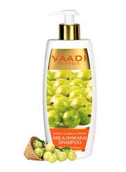 Vaadi Herbals Amla-Shikakai Shampoo, with Reetha Extract for Hairfall & Damaged Hair, 350ml