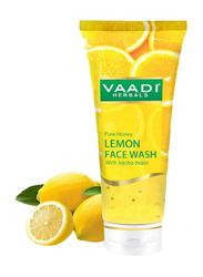 Vaadi Herbals Honey & Lemon Face Wash, with Jojoba Beads, 60ml
