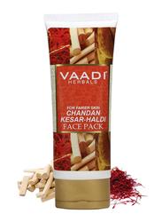 Vaadi Herbals Chandan Kesar Haldi Face Pack, 120gm
