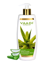 Vaadi Herbals Aloe Vera Deep Pore Cleansing Milk, 350ml