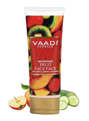 Vaadi Herbals Refreshing Fruit Face Mask, with Apple, Lemon & Cucumber, 120gm