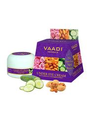 Vaadi Herbals Under Eye Cream, Almond Oil & Cucumber Extract, 30gm